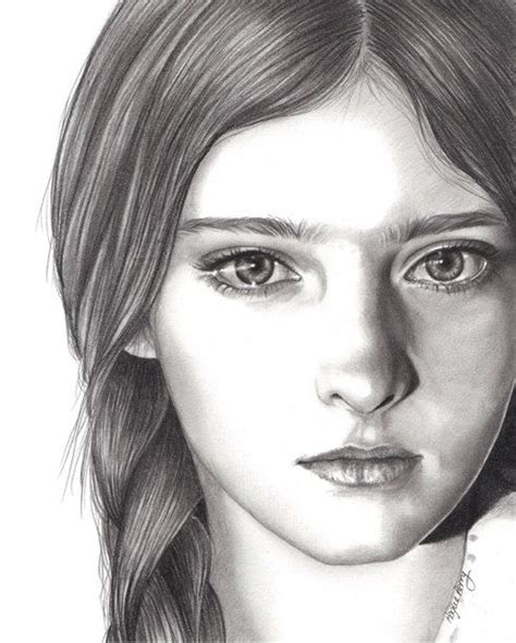 pencil portrait drawing willow shields primrose everdeen the hunger pencil