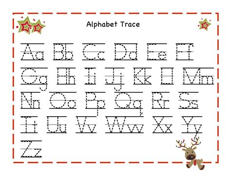 free printable tracing letters of the alphabet free printable alphabet tracing