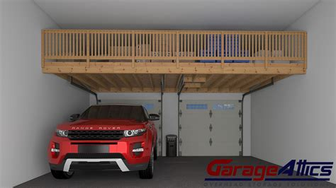 Garage Shelf Design garage storage ideas custom overhead storage lofts
