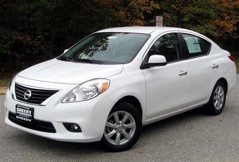 Most Wanted Cars Nissan Versa 2013