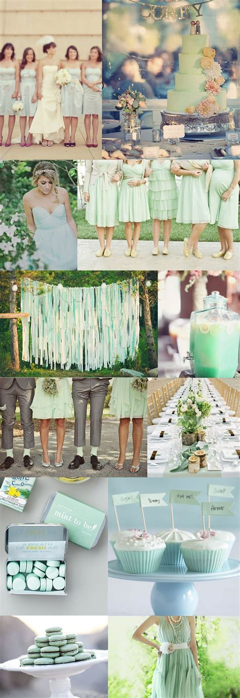 themes for the colour green 17 best images about seafoam green peach wedding ideas