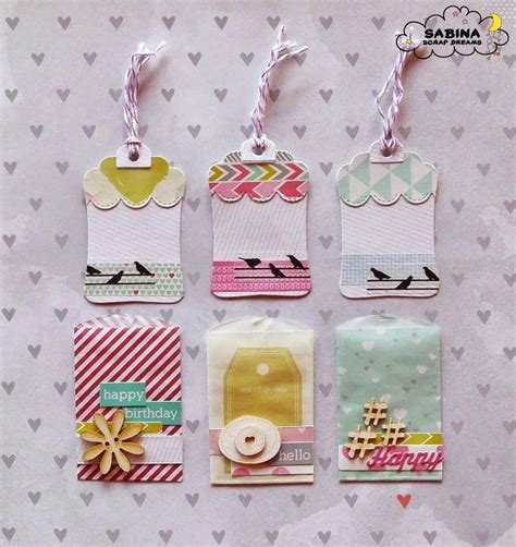 tutorial tags scrapbook 17 best images about scrapbooking project ideas craft