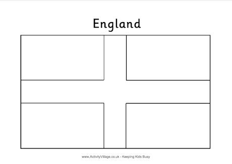 free coloring pages of england flag outline england flag colouring page
