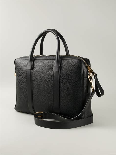 Tom Ford Bag by Lyst Tom Ford Zipped Laptop Bag In Black For