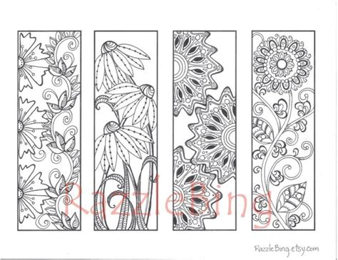 nice printable bookmarks 59 best images about coloring bookmarks on pinterest