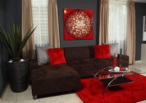 red and brown bedroom decor red decoration for living room love it home decor