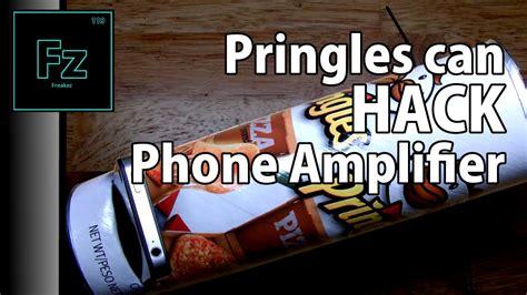 diy pringles hack phone iphone lifier
