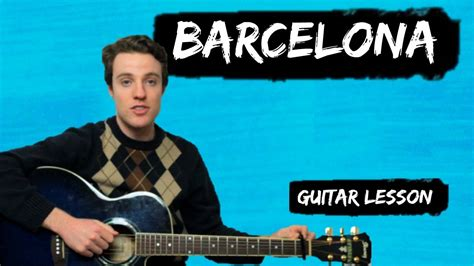 barcelona ukulele chords ed sheeran barcelona how to play barcelona for