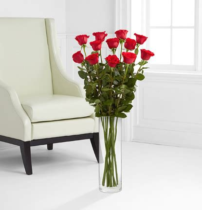 3 Foot Vases by One Dozen Ultimate 3 Foot Roses With Vase