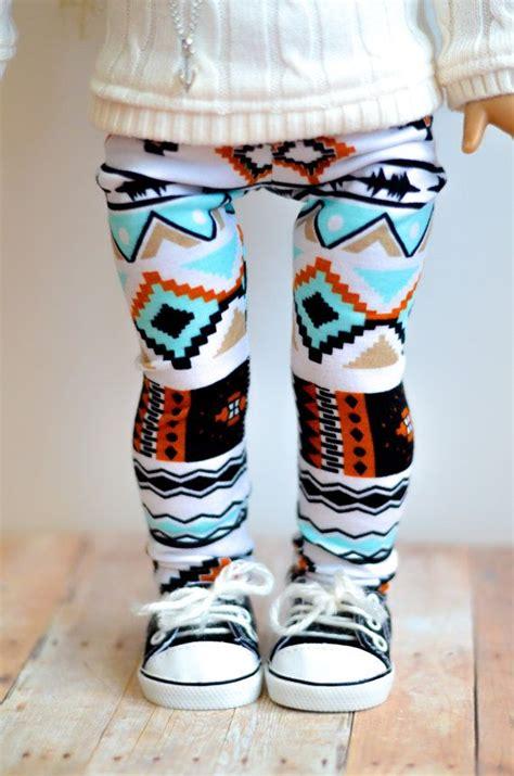 cute tribal pattern leggings the morgan leggings in tribal print for american girl 18