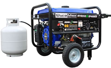 electric generator depot duromax xp4400eh sd dual fuel
