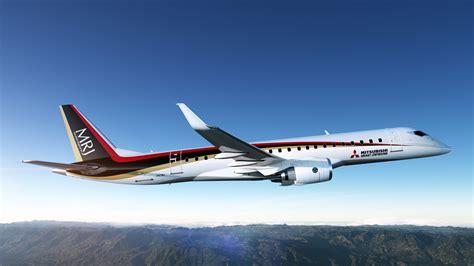 mitsubishi jet mrj successfully completes flight
