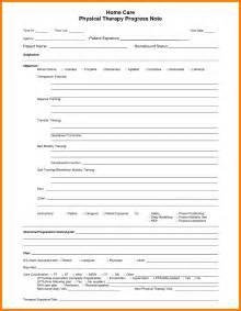 therapy progress note template 6 physical therapy progress note template farmer resume