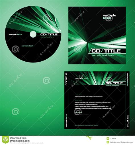 Cd Cover Design Vector   cd cover design vector royalty free stock images image