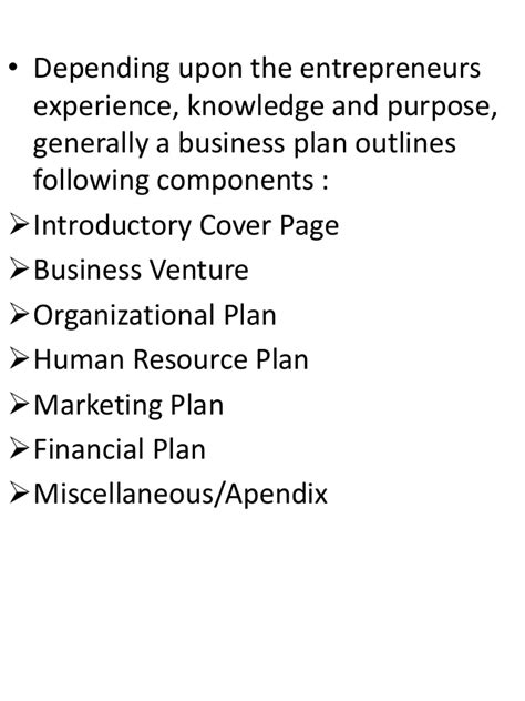 Human Resources Mba Canada by Business Plan Ent