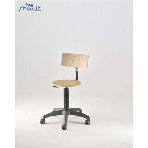 schemel mit rollen emmeitalia stuhl mit einstellbar beech steel wheels m343s