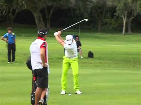 iron swing slow motion jamie donaldson golf swing in slow motion with an iron