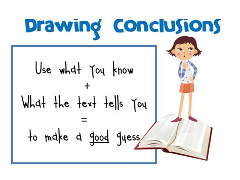O Drawing Conclusions drawing conclusions