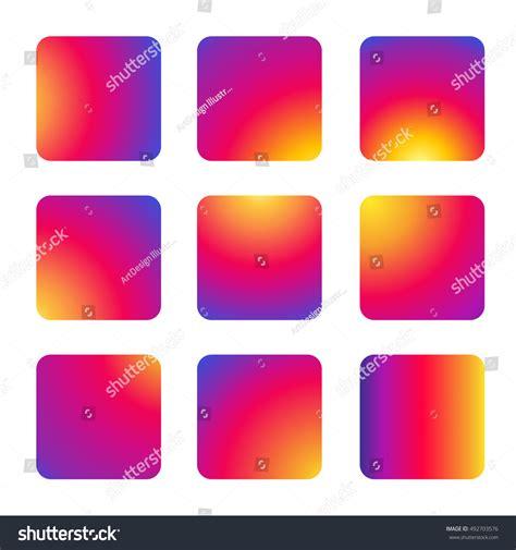 instagram pattern background app instagram 2016 new icon background set stock vector