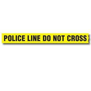 """sirchie barrier tape """"police line do not cross"""" without"""