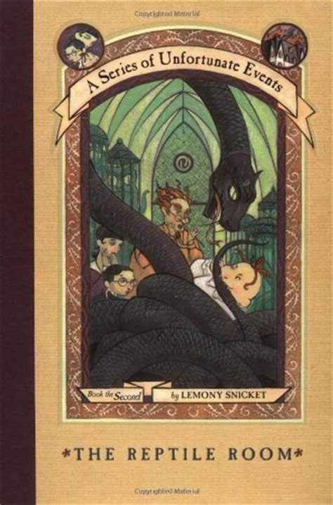 A Series Of Unfortunate Events The Reptile Room by A Thousand New Books A Series Of Unfortunate Events The