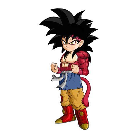 imagenes de goku jr adulto image goku jr ssj4 by spongeboss png dragon ball wiki