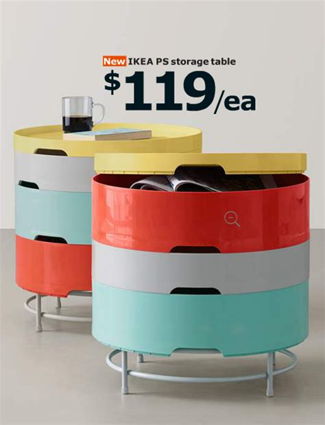 ikea ps 2014 storage table 10 things we love from ikea s 2015 catalogue