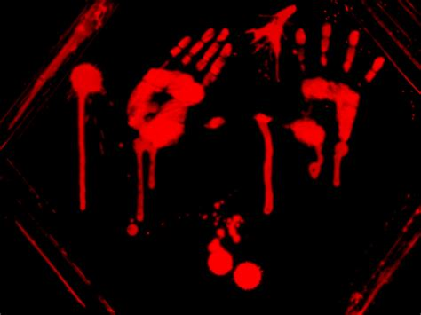 bloody handprints or something by no sleep jinx on deviantart