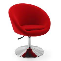 maggie s room retro red swivel leisure chair