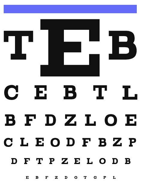 printable eye chart 20 15 eye test 20 20 vision take it here now