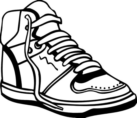 Basketball Shoes Clipart