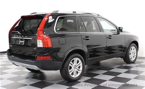 volvo suv 3 row seating 2011 used volvo xc90 3 2 awd 3rd row seating at
