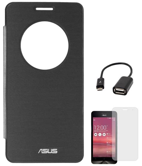 Usb Otg Asus Zenfone 5 dmg circle window flip book cover for asus zenfone 5