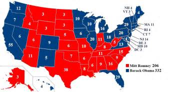 united states presidential election 2012 map by 33k7 on