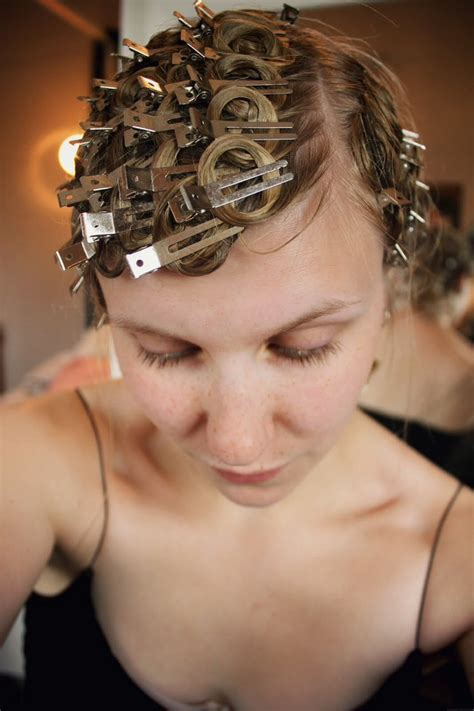curly hairstyles using bobby pins musely
