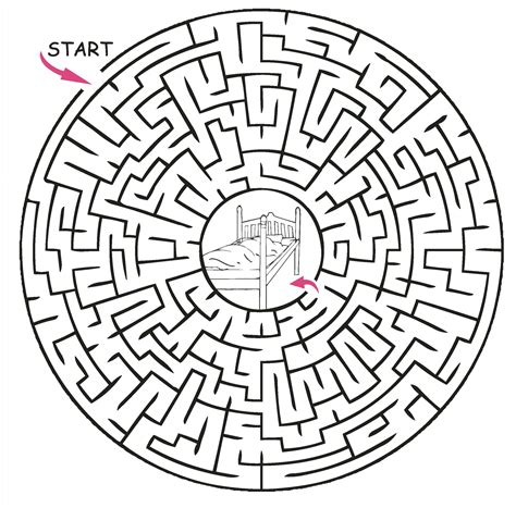 printable puzzles for kids maze castle maze princess puzzles and activities for