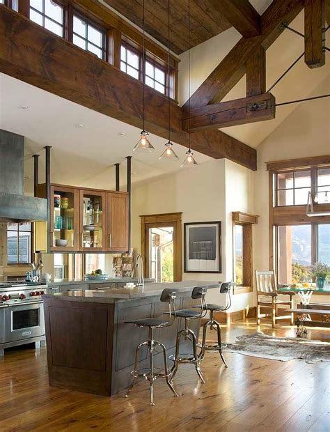 modern rustic home interior design turret home with rustic interiors modern house designs