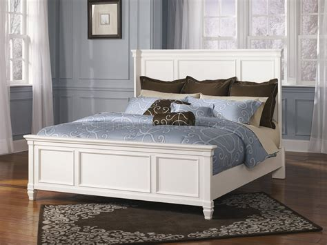 ashley furniture white bed prentice bedroom b672 in white w panel bed by ashley furniture
