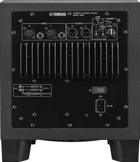 Yamaha Hs 8 Yamaha Hs8 Yamaha Hs 8 Speaker Monitor Yamaha Hs8 S Subwoofer Aktywny