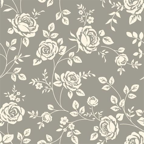 seamless pattern download retro roses seamless patterns design vector 03 vector