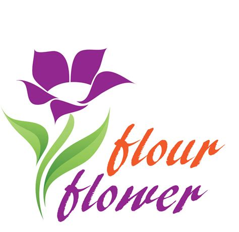 design logo flower entry 91 by achala2 for logo design for flour flower