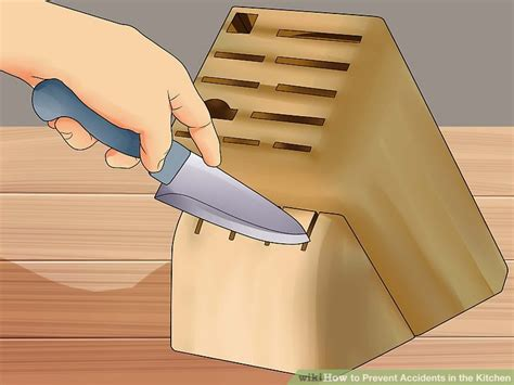 4 Ways To Prevent Accidents In Your Home My House 3 Ways To Prevent Accidents In The Kitchen Wikihow