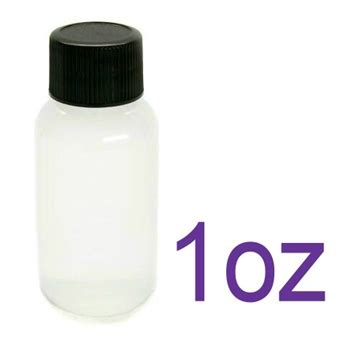 components empty soft squeeze 1oz bottles for henna - 1 Ounce Bottles