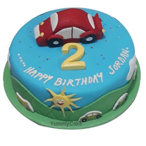 2nd Birthday Cake for Boy   Order Online at a Low Price