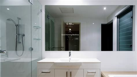 s 233 ura introduces smart bathroom mirror electronic house
