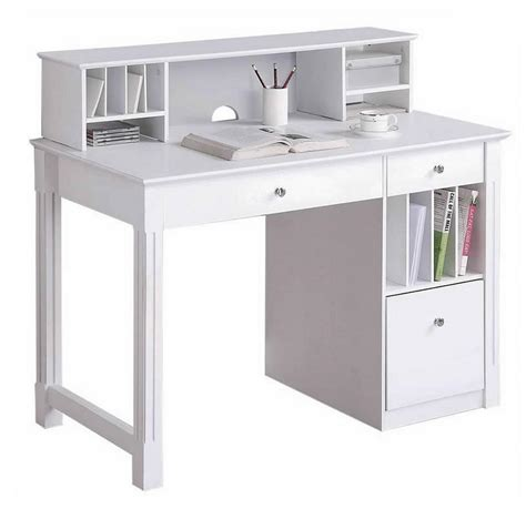 best table l for reading home reading room hutch top white office desk furniture