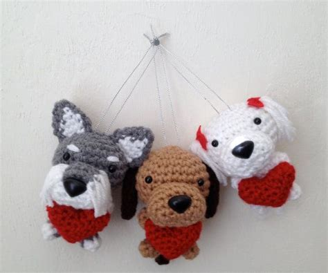 stuffed animals valentines day s day crochet stuffed animal toys puppys and crochet