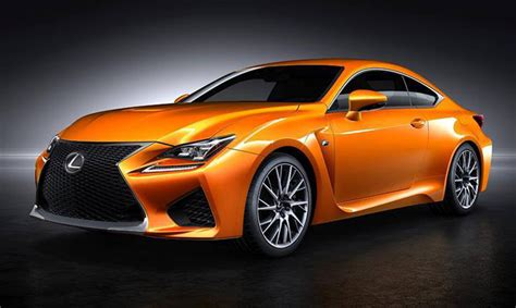 rcf lexus orange officially name the new orange lexus rc f colour in the uk