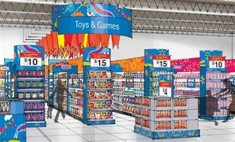 walmart canada toy department refresh  behance