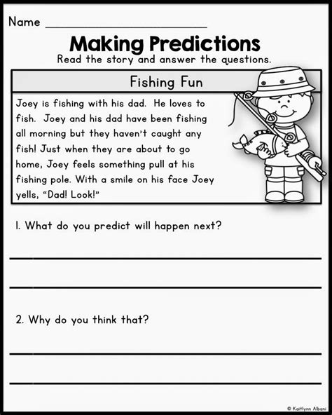 predictions and inferences worksheet worksheets for